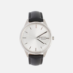Наручные часы Uniform Wares C40 Brushed Steel/Black Nappa Leather фото- 0