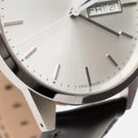 Наручные часы Uniform Wares C40 Brushed Steel/Black Nappa Leather фото- 3