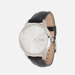 Наручные часы Uniform Wares C40 Brushed Steel/Black Nappa Leather фото- 1