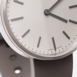 Uniform Wares M37 Watch Brushed Steel/Grey Nitrile Rubber photo- 3