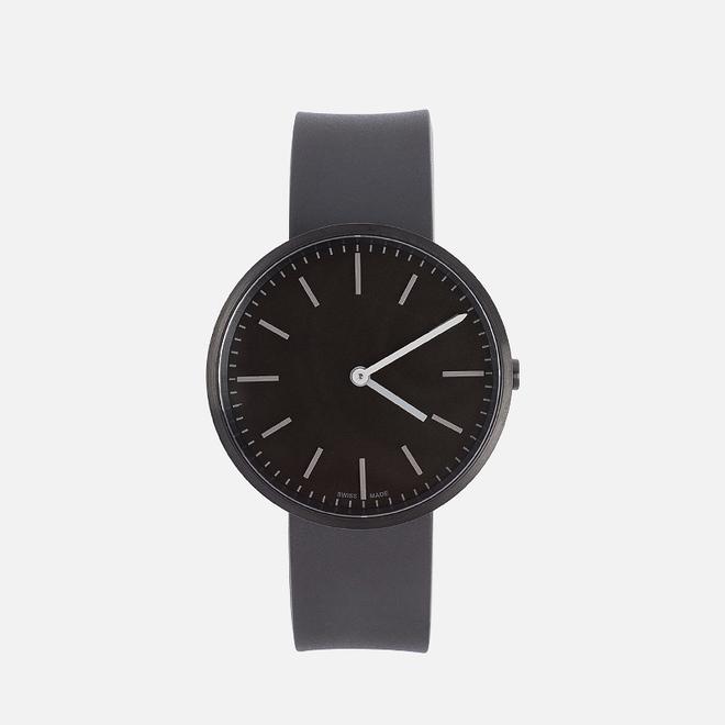 Наручные часы Uniform Wares M37-PVD Black/Black Nitrile Rubber