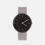 Uniform Wares M37-PVD watch Black/Grey Nitrile Rubber photo- 0