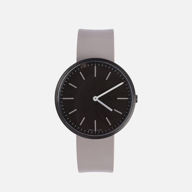 Наручные часы Uniform Wares M37-PVD Black/Grey Nitrile Rubber