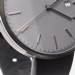 Наручные часы Uniform Wares M40-PVD Grey/Black Nappa Leather фото- 3