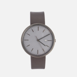 Наручные часы Uniform Wares M40-PVD Grey/Brown Nappa Leather фото- 0