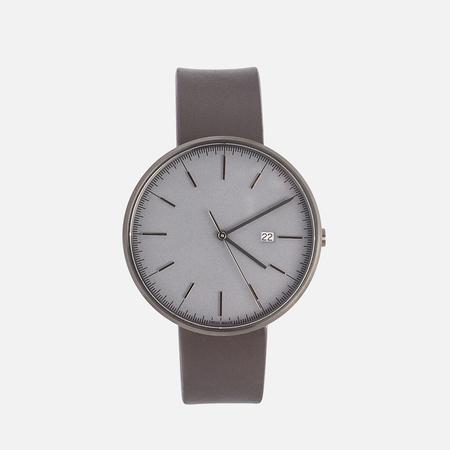 Наручные часы Uniform Wares M40-PVD Grey/Brown Nappa Leather