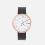 Наручные часы Uniform Wares M40-PVD Rose Gold/Black Nappa Leather фото- 0