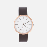 Наручные часы Uniform Wares M40-PVD Rose Gold/Brown Nappa Leather фото- 0