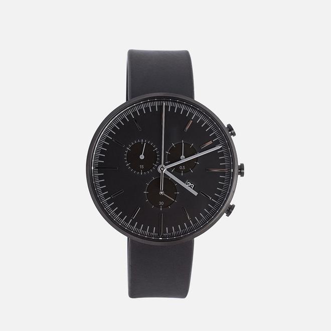 Наручные часы Uniform Wares M42-PVD Black/Black Nappa Leather