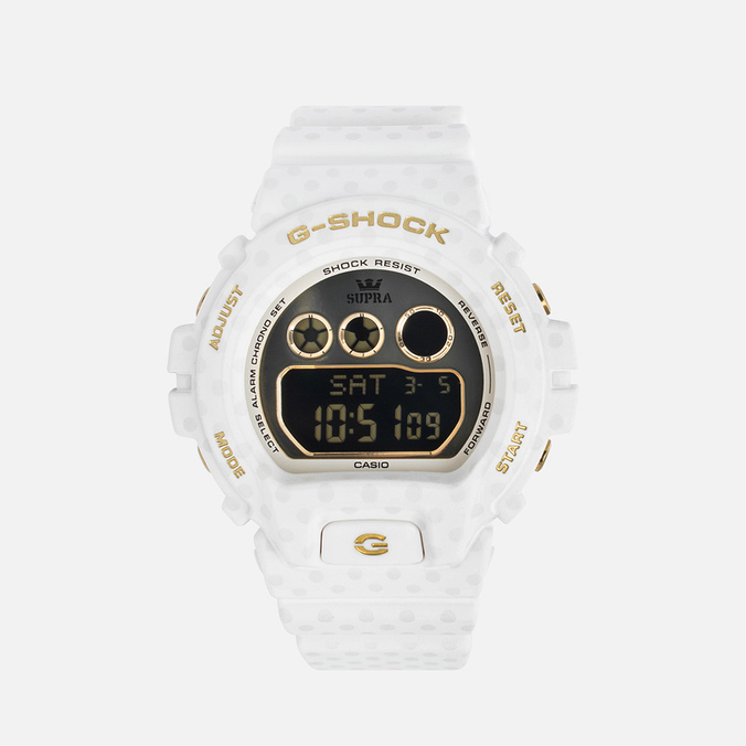 CASIO G-SHOCK x SUPRA GMD-S6900SP-7ER Connect The Dots Women's Watch White