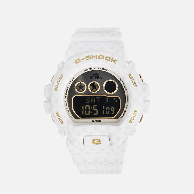Женские наручные часы CASIO G-SHOCK x SUPRA GMD-S6900SP-7ER Connect The Dots White