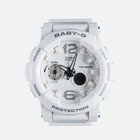 CASIO Baby-G BGA-180-7B1 Women's Watch White/Silver