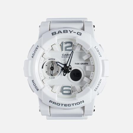 Женские наручные часы CASIO Baby-G BGA-180-7B1 White/Silver