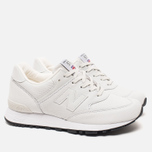 Женские кроссовки New Balance W576NRW Reptile Off White фото- 1