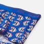 Мужские трусы Calvin Klein Underwear Low Rise Logo Step Print/Kettle Blue фото - 1