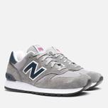 Мужские кроссовки New Balance M670SGN Grey фото- 1