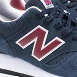 Мужские кроссовки New Balance M670SNR Navy фото- 7