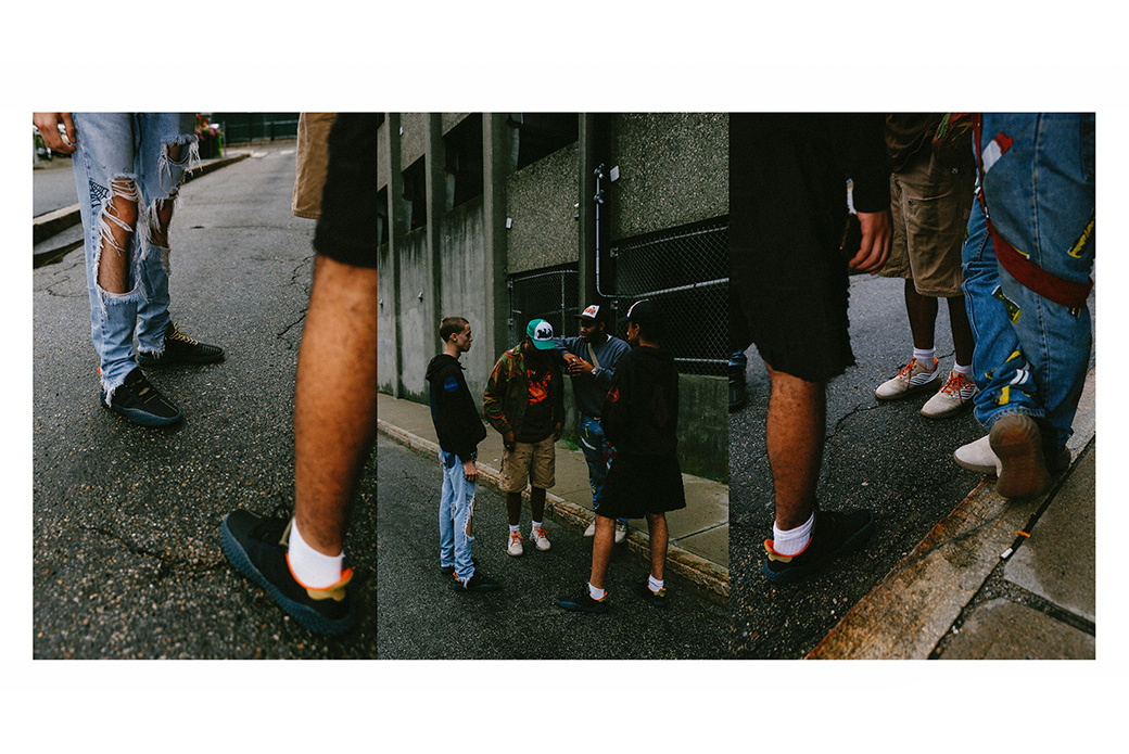 adidas Consortium × Bodega: спрятано на виду