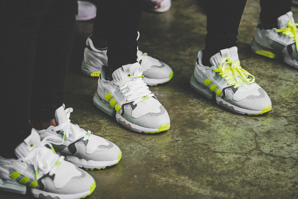 adidas Consortium × Footpatrol ZX Torsion: настроение Лондона