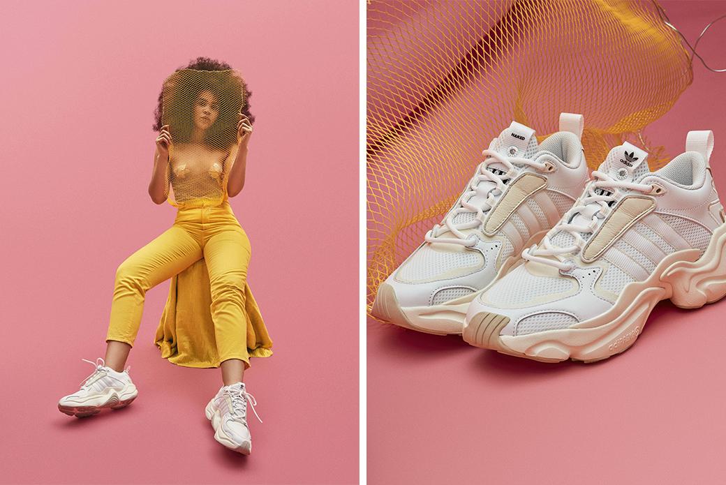 adidas Consortium × Naked Magmur Runner: свой шарм