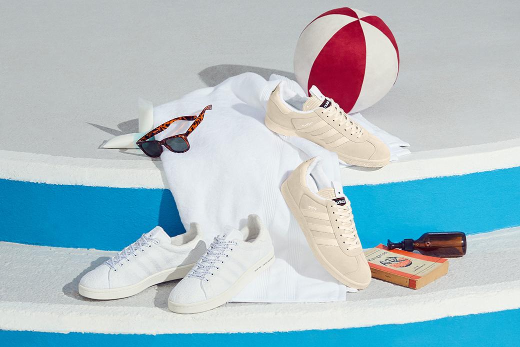 adidas Consortium × United Arrows & Sons × Slam Jam: элегантный набор