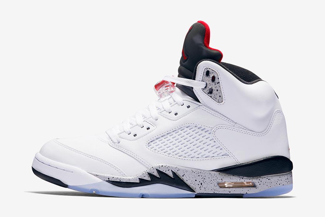Air Jordan 5 White Cement: наследие старшего брата