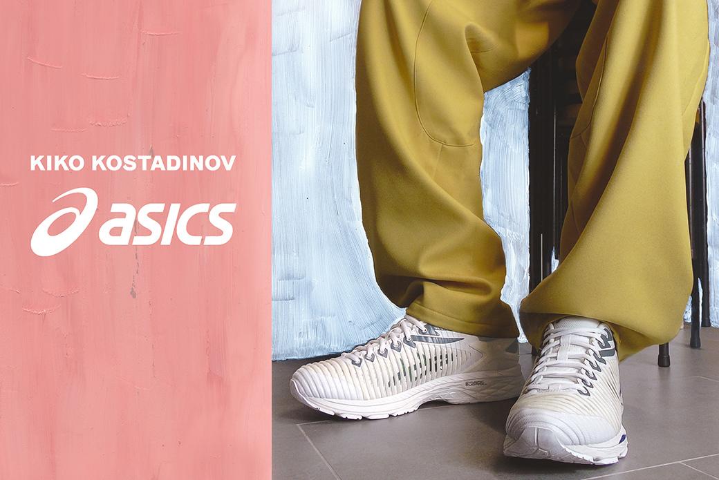 ASICS × Kiko Kostadinov GEL-Delva: больше цвета