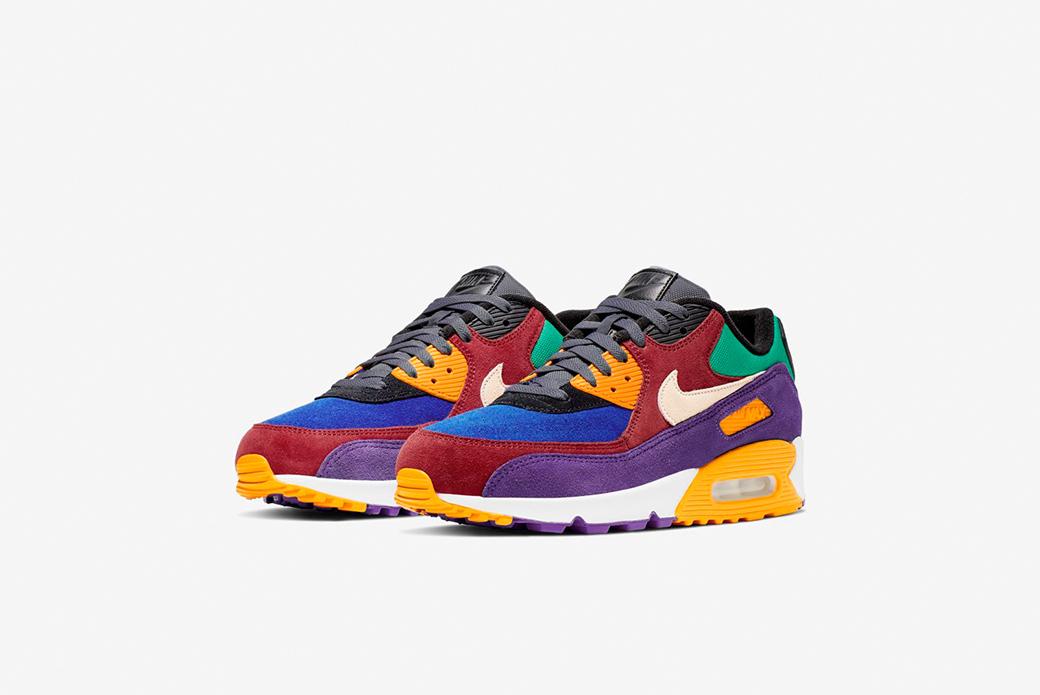 Nike Air Max 90 Viotech: буйство красок