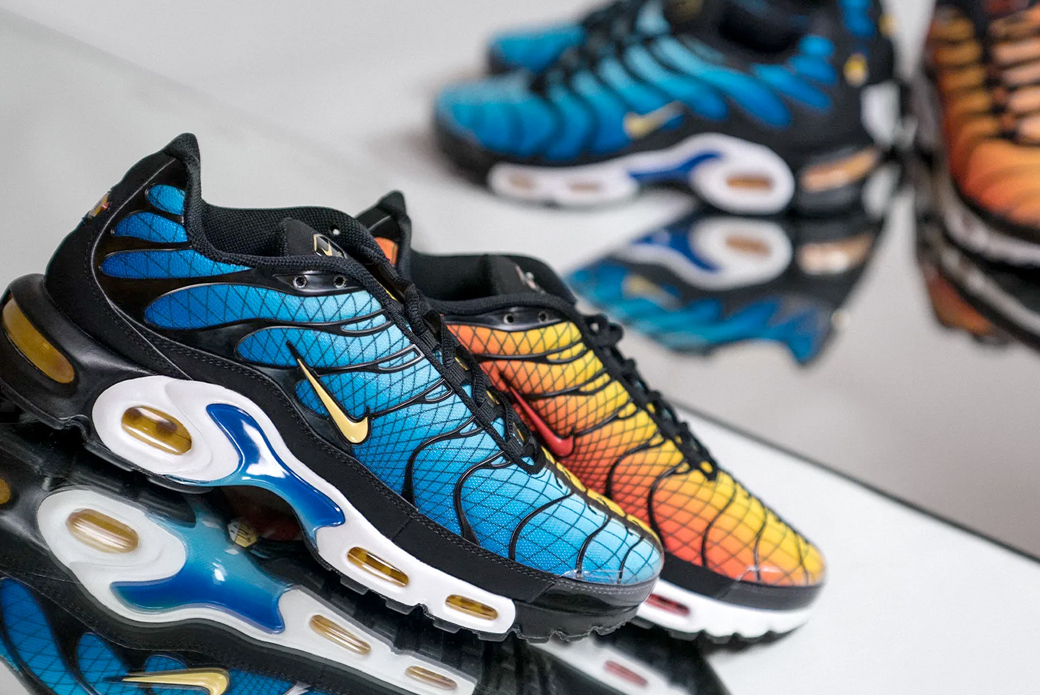 "Nike Air Max Plus TN ""Greedy"": три в одном"