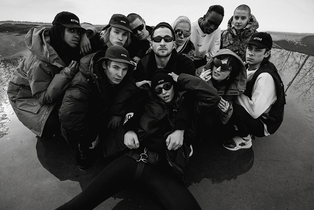 PUMA × Outlaw Moscow: зимняя глава