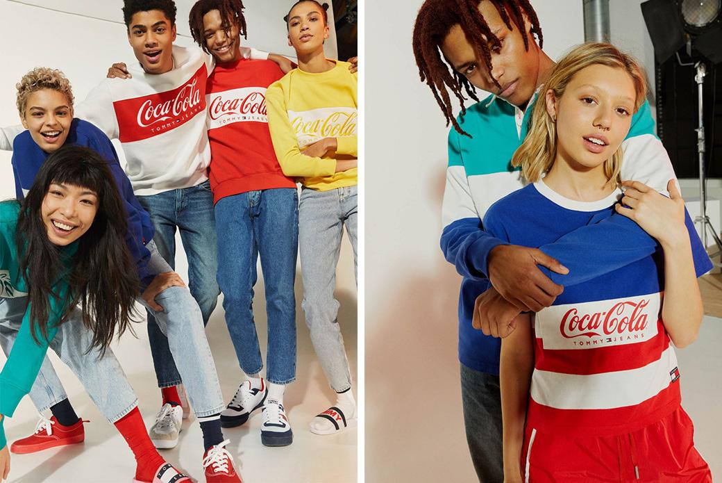 Tommy Jeans × Coca-Cola: американская поп-культура