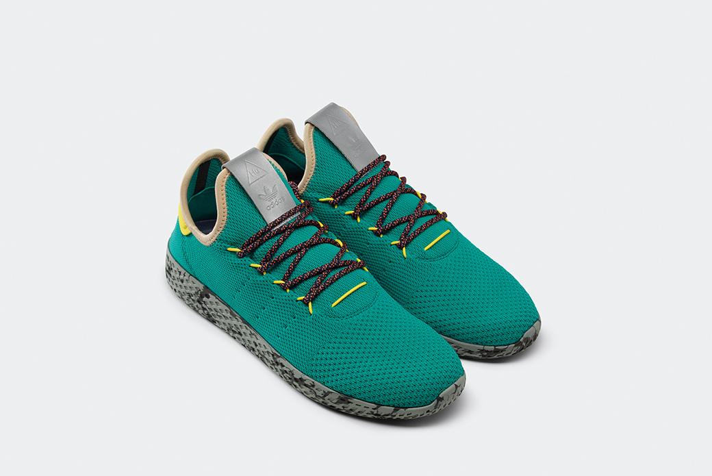 adidas Originals × Pharrell Williams Tennis Hu: новые расцветки