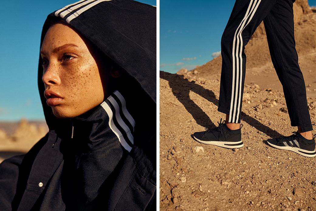 adidas Consortium × NAKED: женский эксклюзив