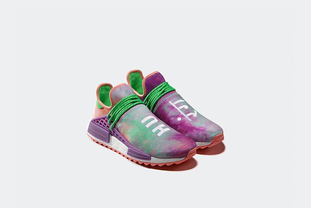 adidas Originals × Pharrell Williams Hu Holi: фестиваль красок