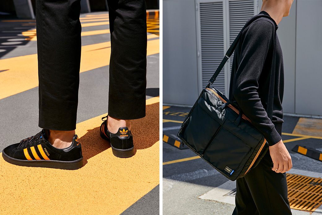 adidas Originals × PORTER: кроссовки и сумки