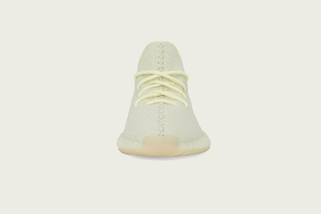 adidas YEEZY BOOST 350 V2 Butter: жёлтая палитра