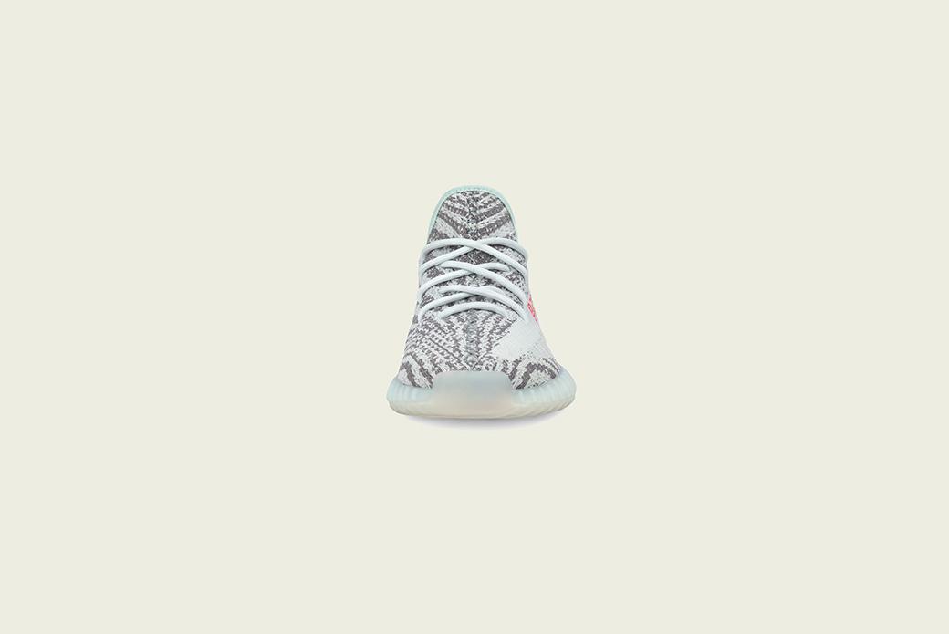 adidas Originals YEEZY BOOST 350 V2: оттенок синего