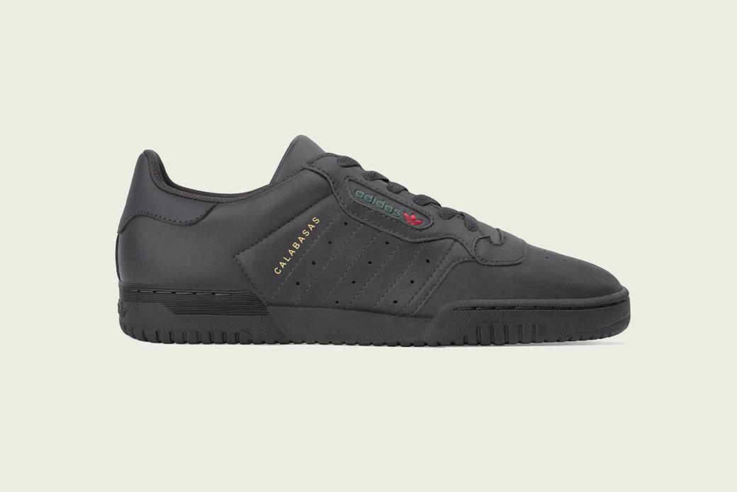 adidas Originals YEEZY Powerphase: полный чёрный