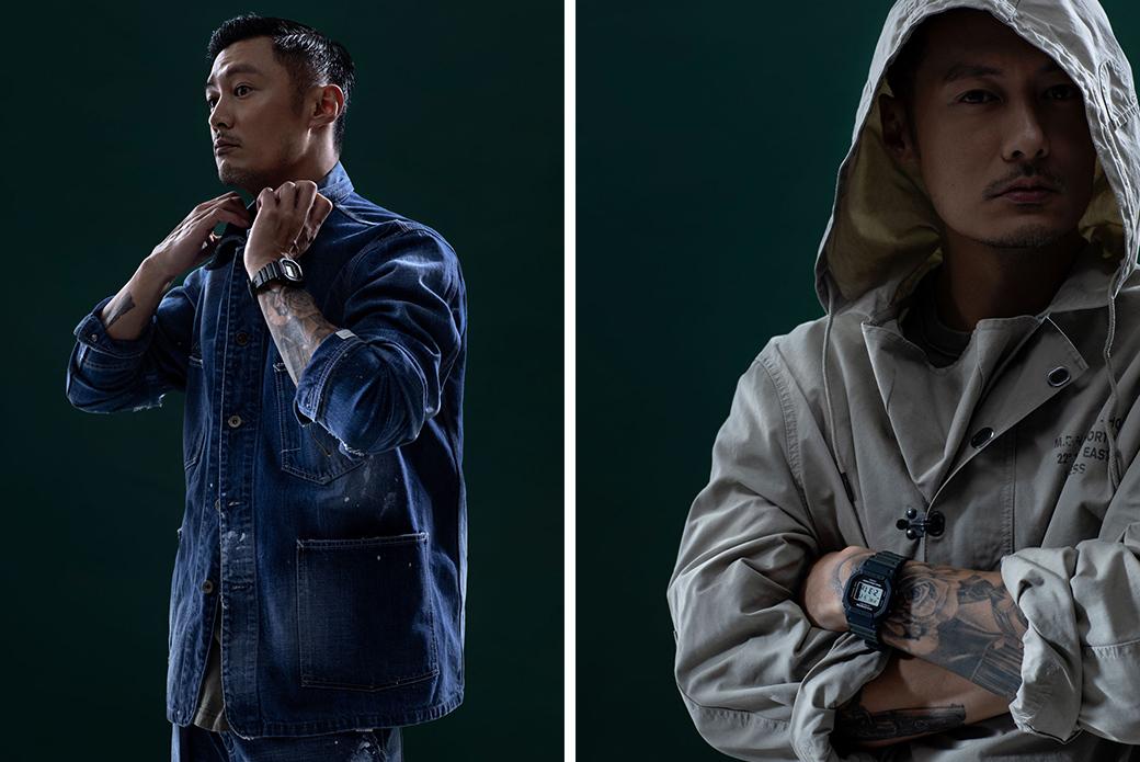 CASIO G-SHOCK × MADNESS: влияние милитари