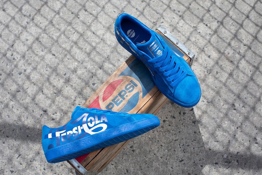 PUMA × Pepsi Suede Classic: неразрывная связь