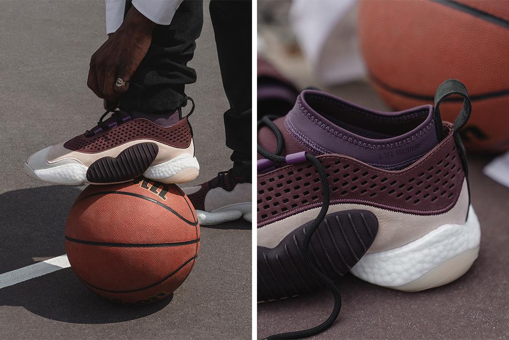 adidas Consortium × A Ma Maniere: баскетбольная роскошь