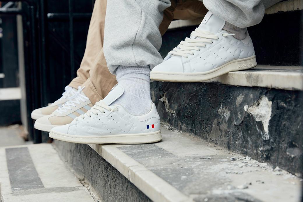 adidas Consortium × ALIFE × Starcow: лаконичный патриотизм