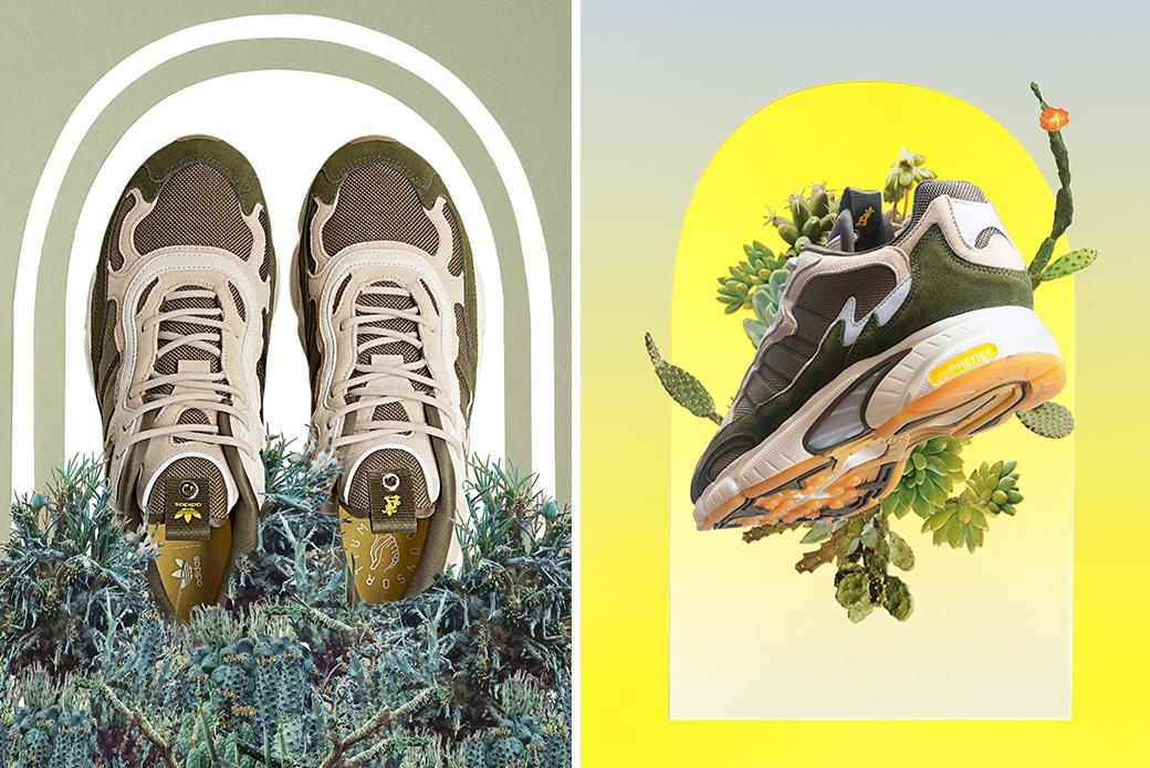 adidas Consortium × Saint Alfred Temper Run: дань природе