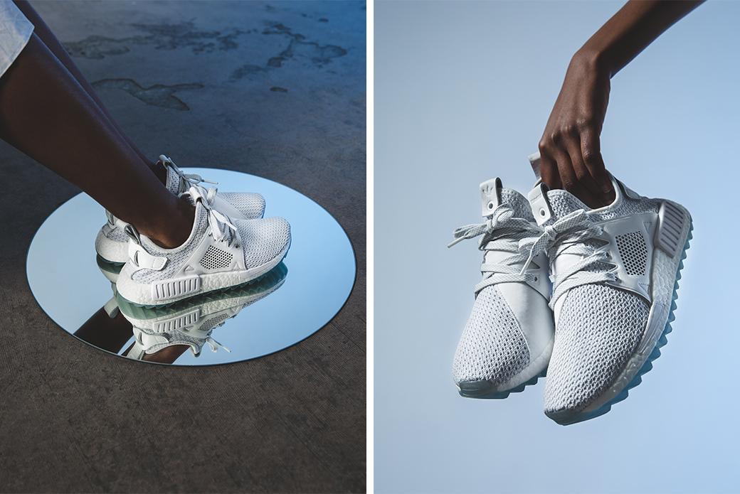 adidas Consortium × Titolo NMD XR1 Trail Celestial: швейцарский ландшафт