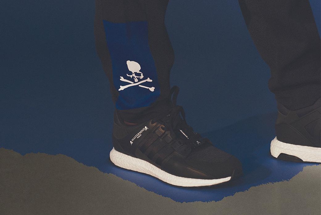 adidas Originals by Mastermind World: сине-черное таинство