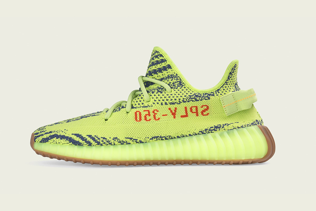 "adidas YEEZY BOOST 350 V2 ""Semi Frozen Yellow"": всплеск жёлтого"