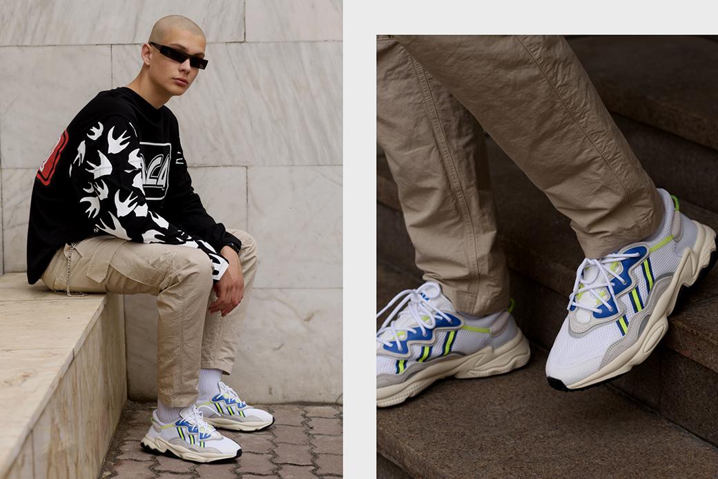 adidas Originals Ozweego: в нашем объективе