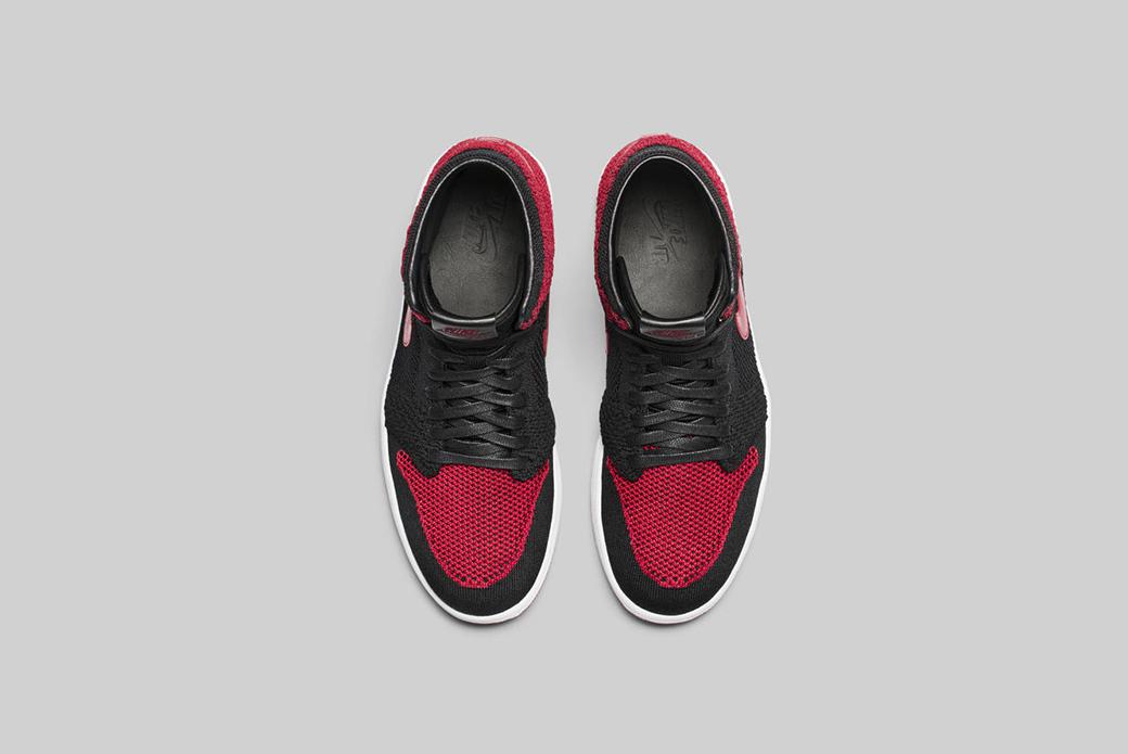Air Jordan 1 Flyknit: смена облика