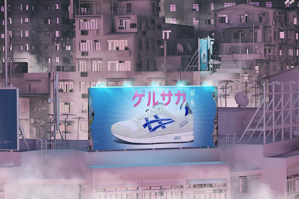 ASICS × Footpatrol GEL-Saga: как в аниме