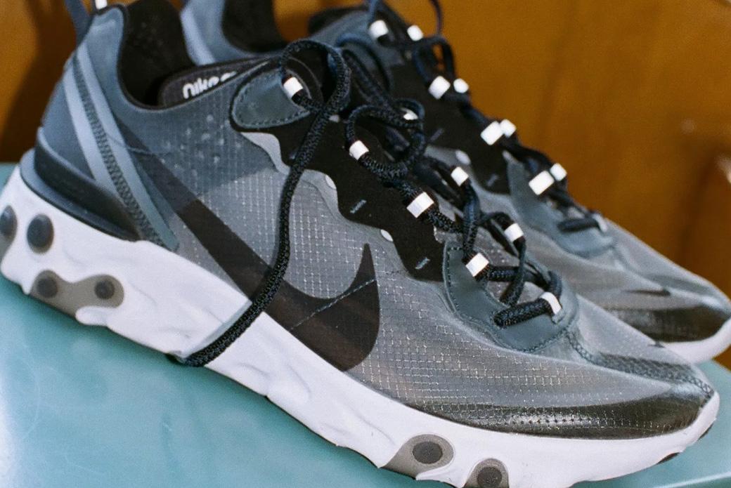 Nike React Element 87: показная технологичность